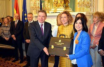 Carolina Darias recibe la cartera de ministra de Política Territorial y Función Pública.