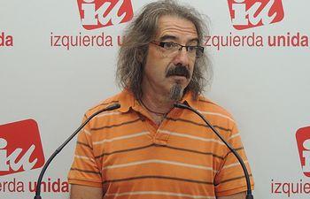 Natalio González, responsable del Área de Educación de Izquierda Unida (IU) en Castilla-La Mancha.