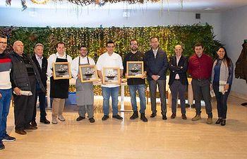 La Academia de Gastronomía de C-LM asiste a la entrega de premios de la III Edición de las Jornadas del Champiñón y las setas.