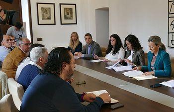 Última reunión del Consejo del Pacto de Toledo por el Tajo celebrada en abril de 2019.