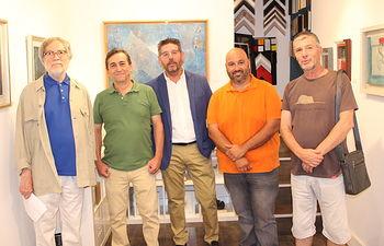 Expoción Áureo en la galería Marmurán.