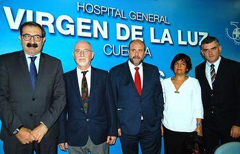 Presentación del nuevo gerente del Área Integrada de Cuenca. Foto: JCCM.