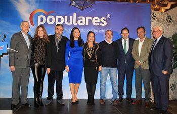 Acto de homenaje a todos los alcaldes y concejales del PP que han formado parte de las corporaciones municipales del Ayuntamiento de Toledo.