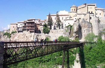 Vista de la localidad de Cuenca.