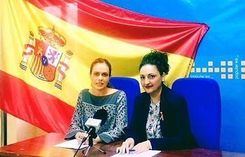 Ana Hernán y Caridad Ortiz