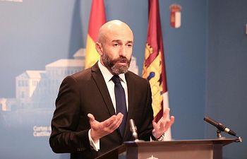 David Muñoz Zapata, diputado regional de Ciudadanos en la Cortes de Castilla -La Mancha.