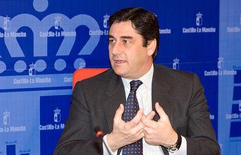 Echániz, consejero de Sanidad y Asuntos Sociales. Foto de Archivo.. Foto: JCCM.
