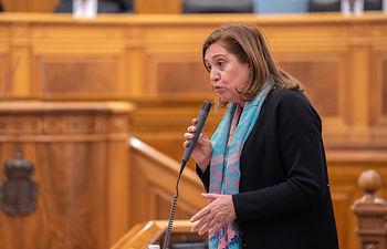 Rosa Ana Rodríguez, consejera de Educación, Cultura y Deportes del Gobierno de Castilla-La Mancha. (Fotos: A. Pérez Herrera // JCCM)