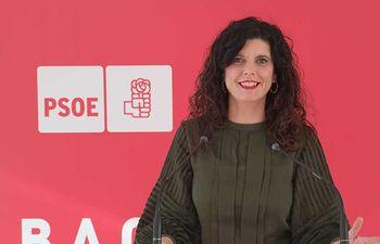 Josefina Navarrete, vicesecretaria General del PSOE de Albacete.