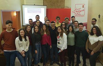 El Comité Provincial de Juventudes Socialistas fija el Estatuto del Becario como una prioridad.