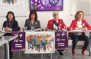 ConvocadA huelga general de 24 horas en la Junta el próximo viernes 8 de Marzo, Día Internacional de la Mujer.