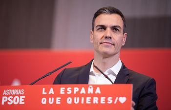 Pedro Sánchez en Gijón. Foto: Eva Ercolanese.