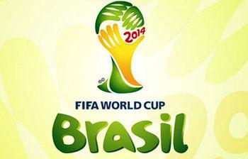 Logo Mundial futbol 2014 (imagen EFE)