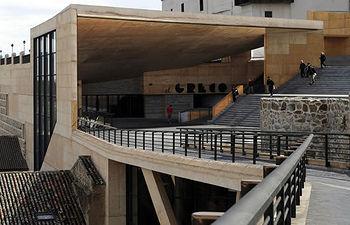 Vistas del exterior del Palacio de Congresos de Toledo, El Greco. Foto: pctoledo.es