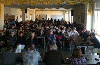 Asamblea de trabajadores de Fuente Agria