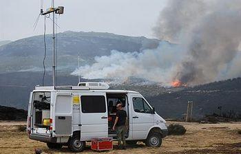 Incendio en Castellón. Foto: Ministerio de Agricultura, Alimentación y Medio Ambiente.