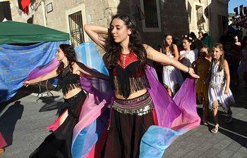 Primera década de la Feria Medieval y Renacentista de Almonacid de Zorita.