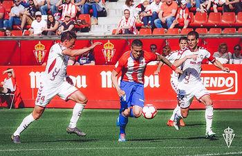 Sporting de Gijón - Albacete. Foto: Sporting de Gijón