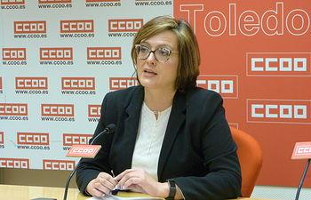 Carolina Vidal, secretaria de Acción Sindical y Formación Sindical y Formación Sindical de CCOO CLM.