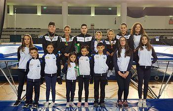 El club Aerotramp y el Club trampolín Albacete representaron a Castilla la Mancha en el Campeonato Internacional Cascáis Beach Cup.