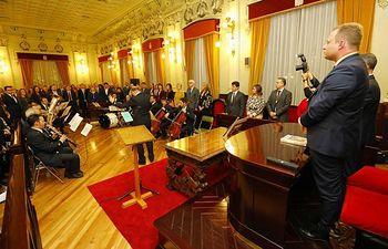 Acto institucional del Día de Albacete.