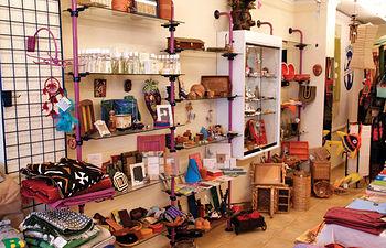 """Imagen de la tienda """"Romero"""", de productos de comercio justo, situada en Albacete."""
