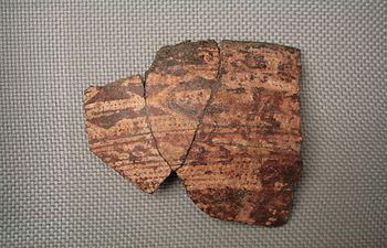 Un fragmento de galbo cerámico del Cerro de las Cabezas, pieza del mes de 'Vive tu museo' - Valdepeñas