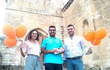Cristian Luján, candidato a la alcaldía para el Ayuntamiento de Arcas.