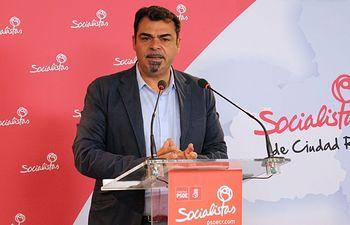 Ricardo Calzado, secretario de Empleo de la Ejecutiva Provincial del PSOE de Ciudad Real.
