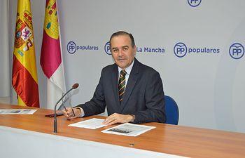 José Julián Gregorio, presidente del Partido Popular de Toledo.