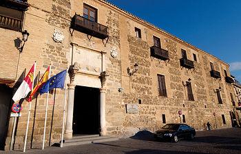 Palacio de Fuensalida, sede del gobierno de Castilla-La Mancha.