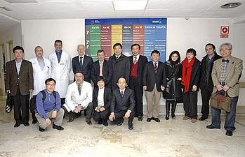 Delegación del Gobierno coreano visita el Hospital Nacional de Parapléjicos de Toledo