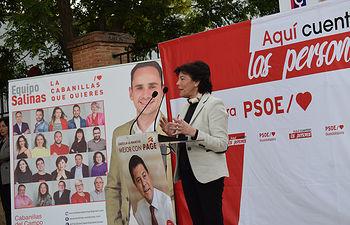 Acto ministra Isabel Celaá en Cabanillas