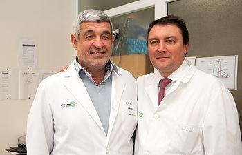 Dos urólogos del SESCAM protagonistas del programa Urology Live Sessions. Foto: JCCM.