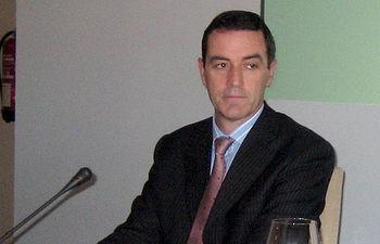 Félix Peinado, presidente de la Sociedad de Garantía Recíproca Aval Castilla-La Mancha. Foto de Archivo.