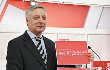 José Blanco, en la presentación de las líneas de la campaña