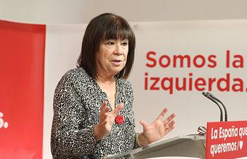 Cristina Narbona, presidenta del PSOE. Foto: @inmeca