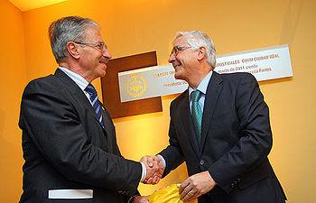 El presidente de Castilla-La Mancha, José María Barreda, inauguró hoy la nueva sede del Colegio de Ingenieros Industriales de Ciudad Real que cuenta con cuatrocientos colegiados