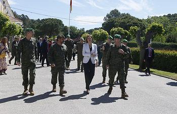 Cospedal destaca la confianza,la seguridad y la garantía de las Fuerzas Armadas Foto:Ruben/MDE