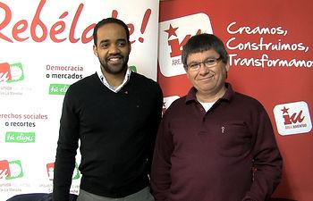 Héctor García y Eugenio Parreño