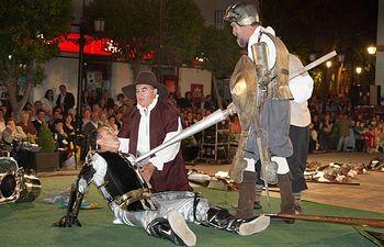 El Quijote de La Mancha vuelve a vivir aventuras en Argamasilla de Alba