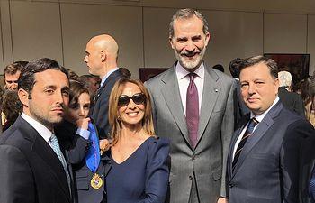 Fotos Familia Dámaso González - Medalla de las Bellas Artes a Dámaso González (5) - 18-02