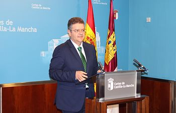 Juan Antonio Moreno, diputado regional del Grupo Parlamentario Popular en las Cortes de Castilla-La Mancha.