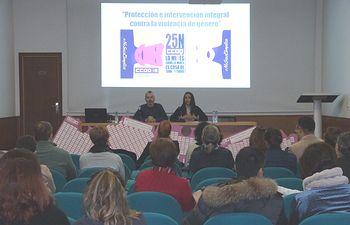 """Jornada """"Protección e intervención integral contra la violencia de género"""" ."""