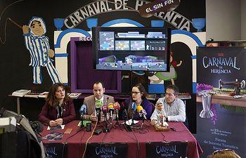 Presentación Cartel Carnaval de Herencia 2019