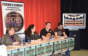 Presentación Festival Gachas Comedy.