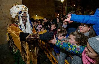 Cabalgata de los Reyes Magos en Albacete. Foto: Manuel Lozano García / La Cerca
