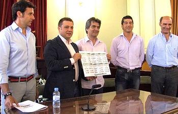 Presentación del Cartel Taurino de la Feria de Albacete 2013.