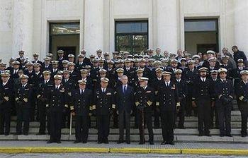 Pedro Morenés visita el Instituto Hidrográfico de la Marina. Foto: Ministerio.