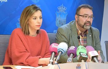 Lucía de Luz y Víctor Cabeza.